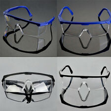 Actual Safety Eye Protection Clear Lens Goggles Glasses From Lab Dust Paint ll