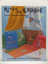 Kount on Kappie Kloth Book 24 Counted Cross Stitch & Needlepoint Patterns Book