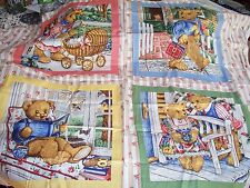 PS#6 -U-PICK 1 From 5 Assorted Multi-color Cotton PillowQuilt fabric Sq. Panels