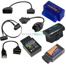 ELM327 OBD2 Wireless Bluetooth Scanner Car Diagnostic + 3Pin 16 22 38 Pin  Cable