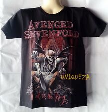 A7X AVENGED SEVENFOLD HAIL to The KING Heavy Metal Rock T-shirt Both Side New