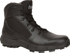 Rocky Broadhead Mens Black Leather Lace-Up Hiker Ankle Duty Boots