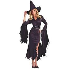 Black Women Sexy Costume Cosplay Wench Party Halloween Witch Outfit Fancy Dress
