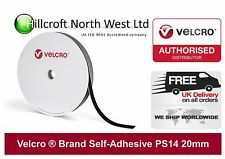 Genuine VELCRO Brand PS14 Self Adhesive Hook & Loop Tape/Fastener 20mm 2cm