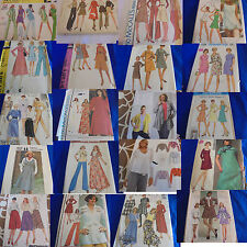 U PICK VINTAGE MODERN SEWING PATTERNS 1970S 60S 80S