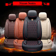 Buy 5-Seats PU Leather Auto Car Chair Cushion SP92 Seat Mat For Nissan Sentra