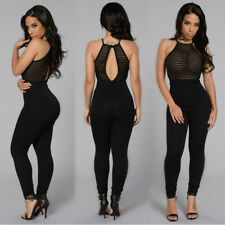 SALE Womens Jumpsuit Evening Overall Clubwear Ladies Party Playsuit Pants Romper