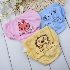 Animals Reusable Washable Baby Infant Adjustable Cloth Nappy Soft Cotton Diaper