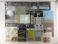 Travel 12x12 Scrapbook Kit Paper & Embellishments Stickers by Magic Scraps