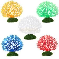 Aquarium Soft Plastic Coral Fish Tank Silicone Ornament Decor Plant Decoration
