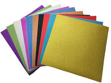 10 sheets 3030 self Adhesive Glitter Scrapbooking DIY Craft Paper  Vinyl Sticker