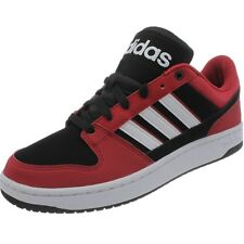 Adidas NEO Dineties Lo black red white Kid's Skater shoes Sneakers Style NEW