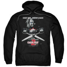 Child's Play 2 Movie Poster Sorry Jack Chucky's Back Sweatshirt Hoodie