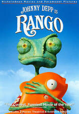 Rango (DVD, 2011) Brand NEW Johnny Depp