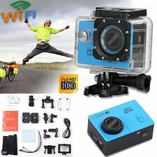 HD 1080P 2'' Waterpoof Sports Dash Camera Helmet Action Video DV Camcorder WiFi