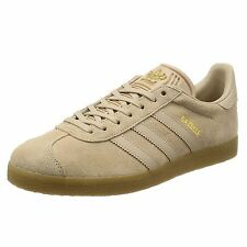 Adidas Gazelle Beige Mens Low Top Trainers