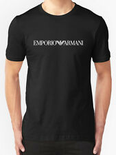 Black New Emporio Armani Short Sleeve Body Fit T-Shirt in size M,L and XL