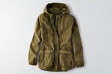 NWT American Eagle Women's AEO MILITARY JACKET Coat Olive - Size XL