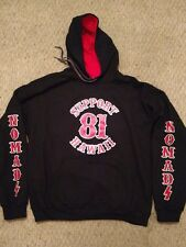 Hells Angels Nomads Hawaii Support 81 Hoodie LIMITED QUANTITIES!