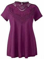 Anthology Simply Be plus size 16 22 24 26 28 30 32 vintage lace top blouse
