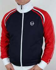 Sergio Tacchini Ghibli Track Top in Navy, White & Red - McEnroe Business