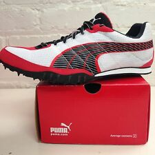 Puma Complete TFX Distance Men'sTrack Spikes Red/Black/White NIB