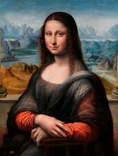 Restored Renaissance Copy of the Mona Lisa: El Prado La Gioconda