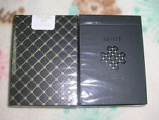 1 DECK Mint Black Limited Edition Deck Playing Cards Poker Size USPCC