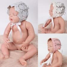 NEW Lace & Cotton Baby Girls Bonnet for 0-3 Month