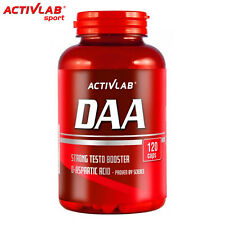 DAA 1000 120 Tablets D-Aspartic Acid Testosterone Booster Bodybuilding Anabolic
