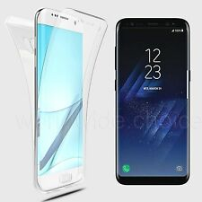 360° Shockproof Ultra Thin Clear TPU Case Cover for Samsung Galaxy S7 Edge S8+