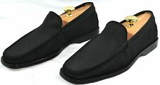 TOD'S Mens Black Made in Italy Luxury Tuxedo Loafers Shoes Size 8.5 US New