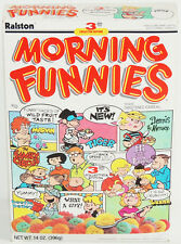 Rare SEALED 1988 Ralston Purina MORNING FUNNIES Cereal Box UNOPENED Comic Strip