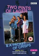 Two Pints Of Lager And A Packet Of Crisps - Series 1-2 - Complete (DVD, 2003)