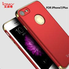 Luxury Hard PC Case Ultra Slim Matte Glossy Plating Back Cover For iPhone7 7Plus