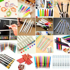 Colorful Cute Cat Gel Ink Roller Ballpoint Pens Stationery Office School Student