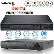 8/16/32 CH HDMI DVR CCTV Security D1 Digital Video Recorder Real Time 960H H264