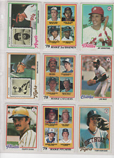 1978 Topps Baseball Cards you pick - NM