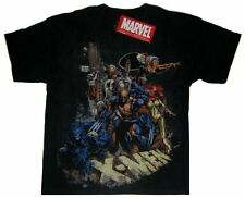 Marvel Comics X-Men Cable Cyclops Storm Wolverine Beast Black Youth T-Shirt