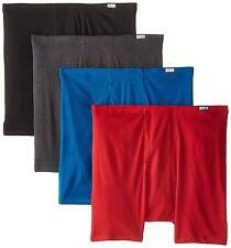 Hanes Mens 4 pc Comfortsoft Extended Sizes Boxer Briefs Assorted XXX Large/48-50