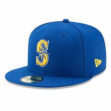 Seattle Mariners 2017 59Fifty Authentic Fitted Performance Alternate 2 MLB