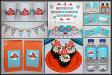 ** FINDING NEMO PERSONALISED Birthday Party Decorations Supplies Fish Sea **