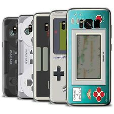 STUFF4 Gel/TPU Case/Cover for Samsung Galaxy S8/G950/Games Console