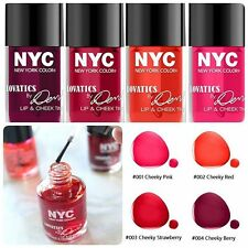 N.Y.C New York Color Lovatics by Demi LIP  & CHEEK TINT