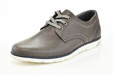 mens lace up slip on casual fashion sneakers casual work comfort gray white tone