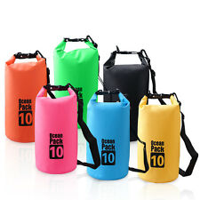 2-30L Waterproof Bag Water Resistant Floating Boating Kayaking Camping Dry Bag