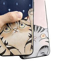 1Pcs For iPhone Soft New Cat Case Relief Phone Case Cover Silicone Hot Cute