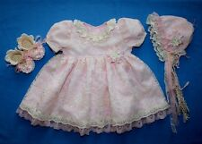 "Handmade dress set for reborn, ooak baby doll 18""- 20"""