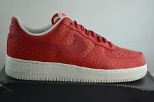 Nike Air Force one 1 07 LV8 Leather Shoes Trainers Size Selectable red