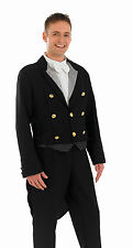 MENS VICTORIAN EDWARDIAN FOOTMAN SERVANT COSTUME FANCY DRESS BUTLER OUTFIT NEW L